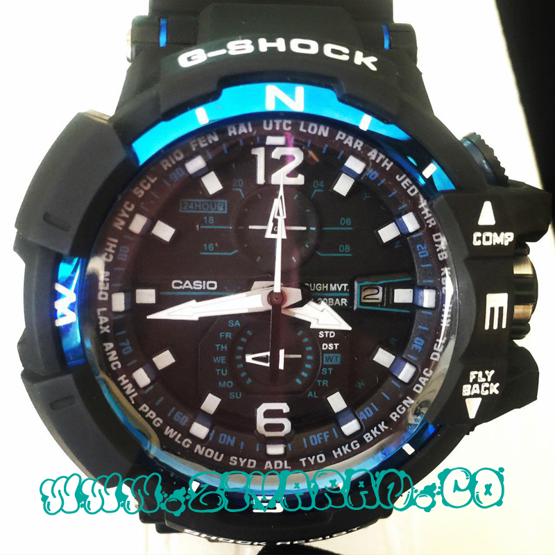 ساعت مچی Casio G-shock آبی رنگ مدل Protection